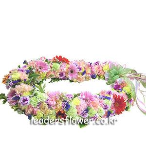 꽃목걸이 3호